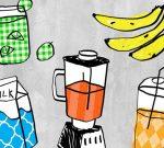 IIlustration, food in a blender
