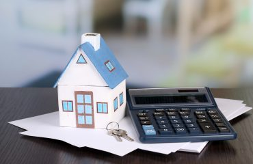 House, keys, calculator