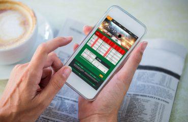 Money-saving apps on smartphone