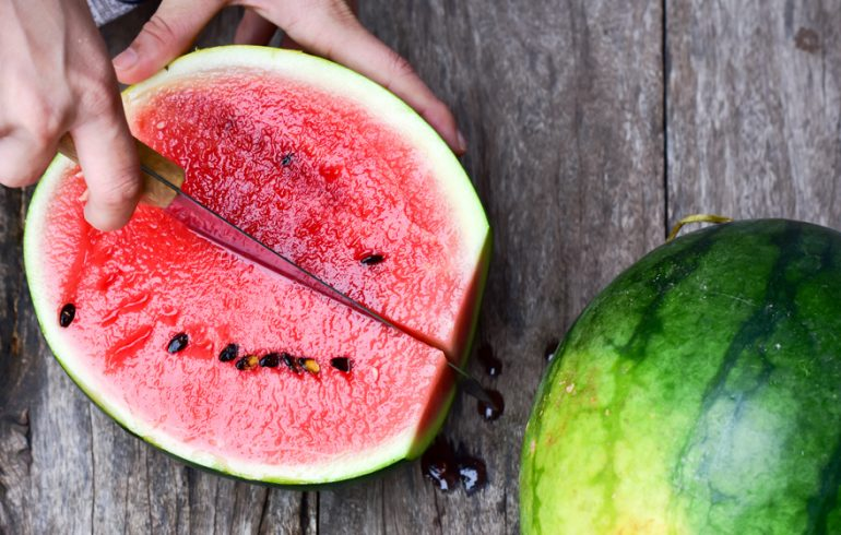 Watermelon is good for the brain