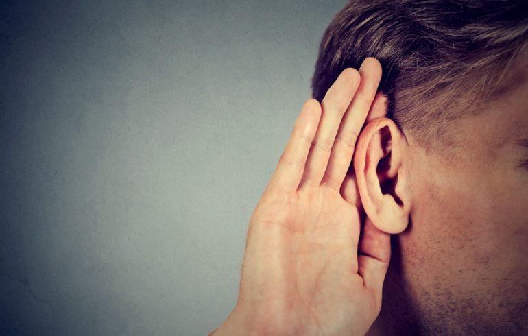 Loss of hearing after orgasm