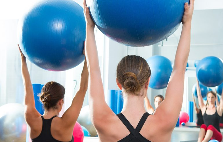 On the Stability Ball: Exercises to Improve Core Strength