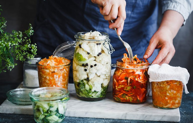 To Boost Beneficial Gut Bacteria Try Fermented Vegetables