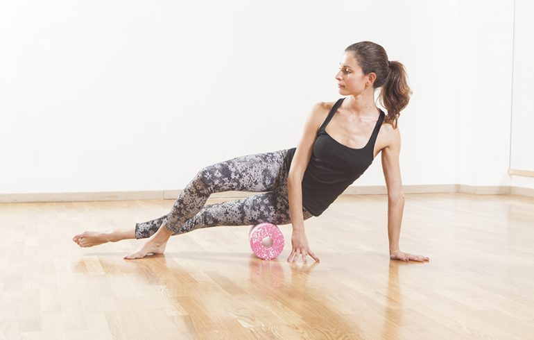 How to Foam Roll Away Tight Hips and Hamstrings